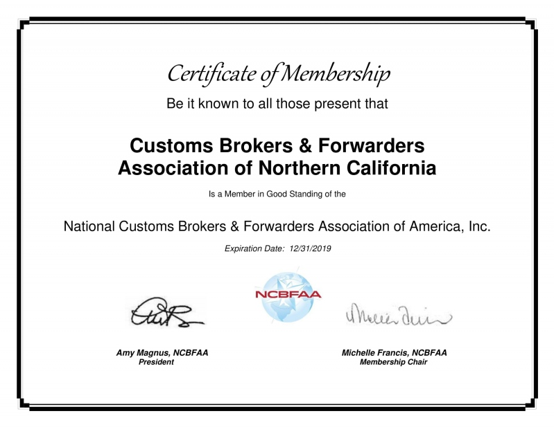 Contact Us - Customs Brokers and Forwarders Association of