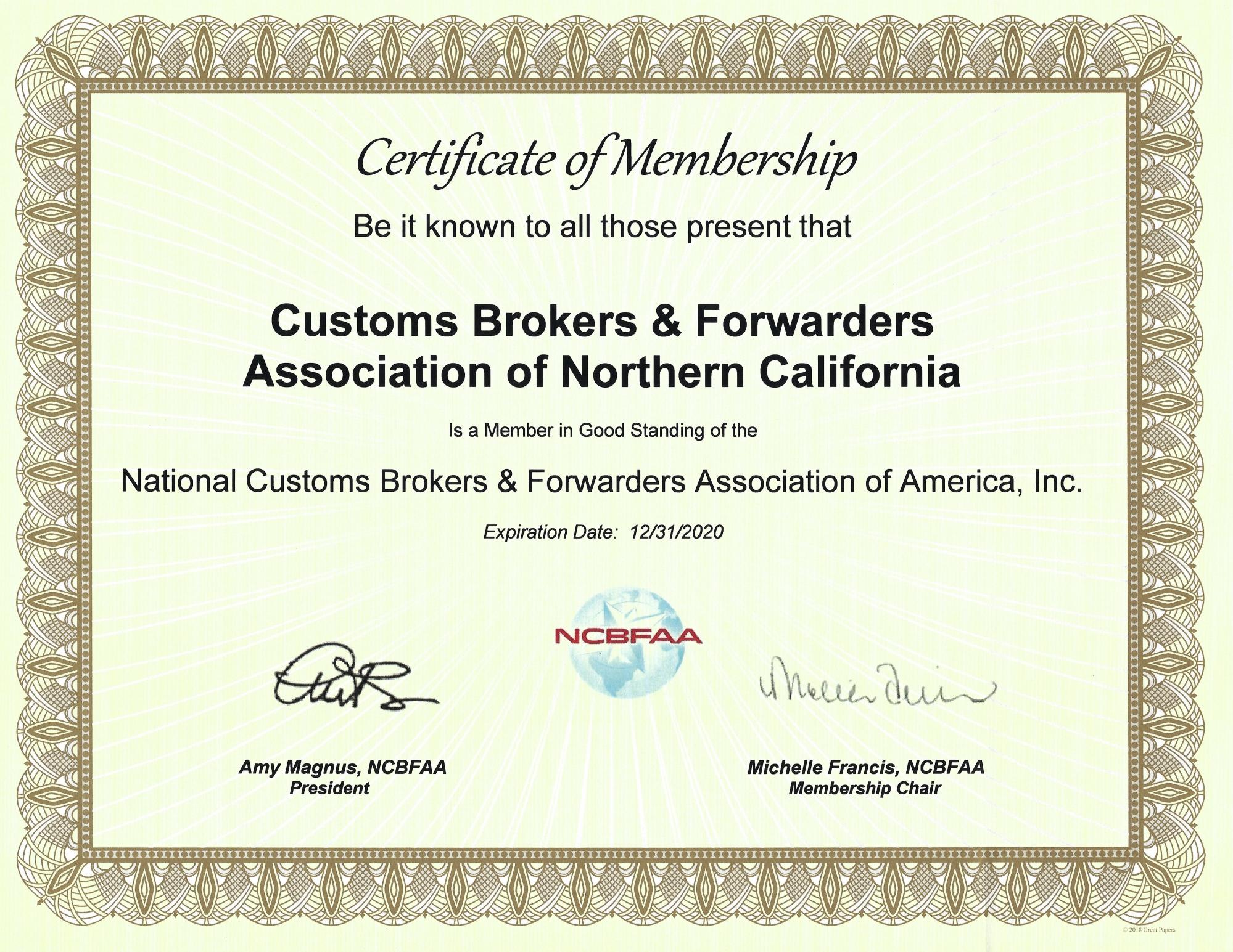 NCBFAA Membership